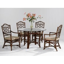 Chippendale Round Dining Room Set