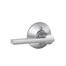 Latitude Lever Non-turning Lock - Satin Chrome