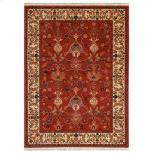 William Morris Red Rectangle 5ft 7in X 7ft 11in