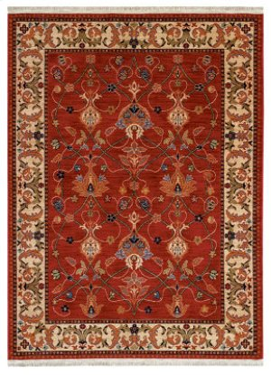William Morris Red Rectangle 8ft 6in X 11ft 6in