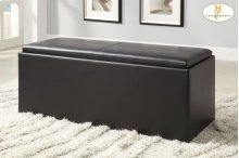 Storage Bench with 2 Ottomans