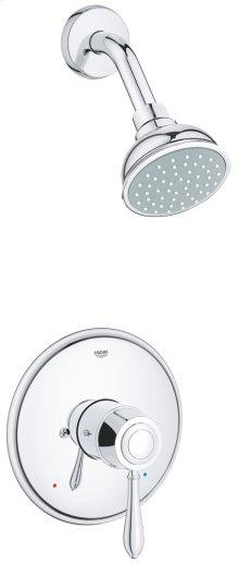 Fairborn Pressure Balance Valve Bathtub/Shower Combo Faucet