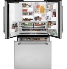 GE Cafe Series ENERGY STAR® 25.1 Cu. Ft. French-Door Bottom-Freezer Refrigerator Product Image