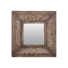 Stamped Metal Mirror