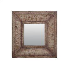 Stamped Metal Mirror