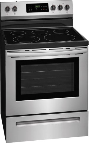 Crosley Electric Range - Black Stainless
