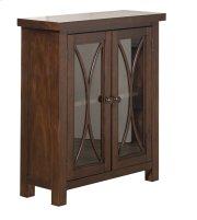 Bayside 2 Door Cabinet - Rustic Mahogany Product Image