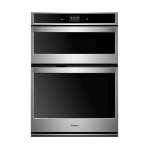 5.7 cu. ft. Smart Combination Wall Oven with Touchscreen - STAINLESS STEEL