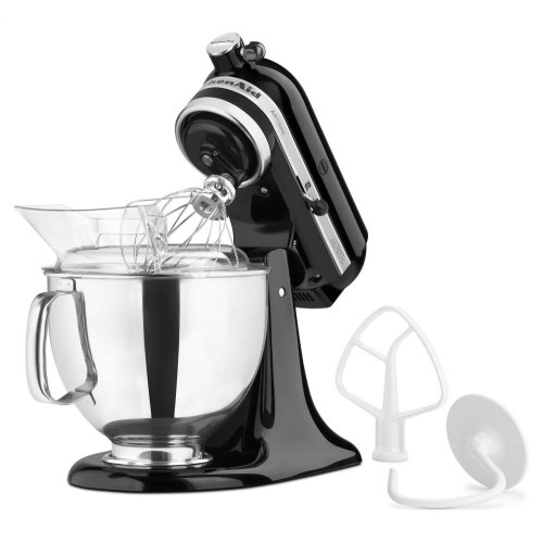 Exclusive Artisan® Series Stand Mixer & Ceramic Bowl Set - Onyx Black