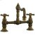 Additional Highlands - Hi-Rise Exposed Pillar Kitchen Faucet - Aged Brass