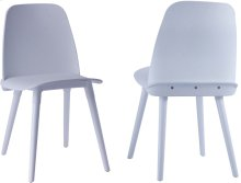 Cosmo White Chair (Set of 2)