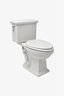 Otis Two Piece High Efficiency Elongated Watercloset with Slow Close Plastic Seat STYLE: OTWC02