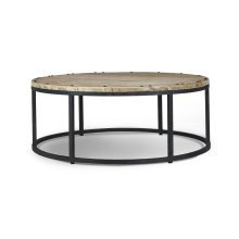 Urban Round Coffee Table 4'