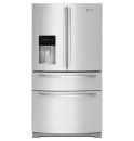 "JENN-AIR CANADA Jenn-Air 69"" Standard-Depth French Door Refrigerator, Euro-Style Stainless"