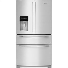 "Jenn-Air 69"" Standard-Depth French Door Refrigerator, Euro-Style Stainless Handle"