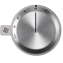 Vario control knob for use with VL 414 downdraft AA 490 710 Stainless Steel