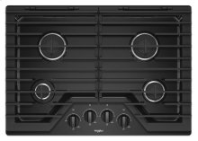 30-inch Gas Cooktop with EZ-2-Lift Hinged Cast-Iron Grates