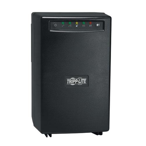 SmartPro(R) 120V 1.5kVA 980W Line-Interactive UPS, Tower, USB, DB9, 6 Outlets