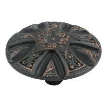 Maltese Knob 1 5/8 Inch - Venetian Bronze