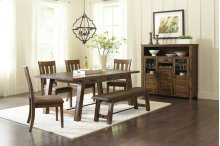 RED HOT BUY- BE HAPPY! Cannon Valley Trestle Dining Table