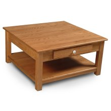 Della Square 1-Drawer Coffee Table