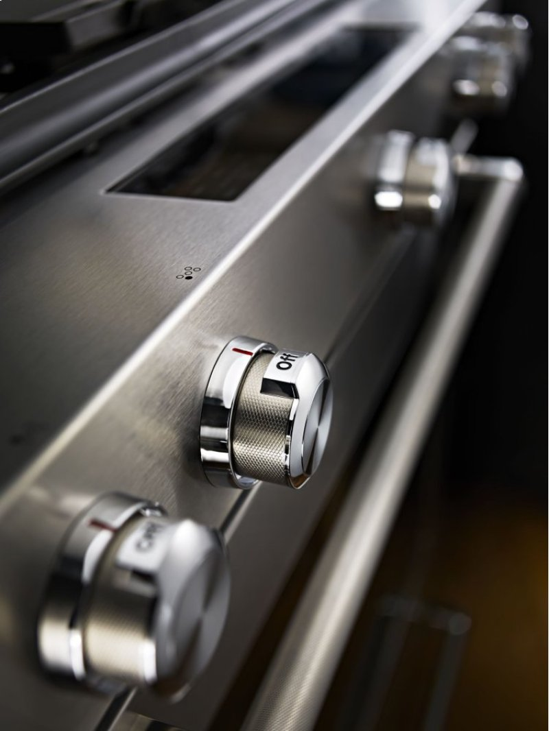 Additional 30 Inch 5 Burner Dual Fuel Convection Slide In Range With Baking