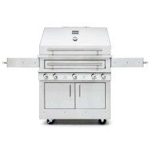 K750HT Hybrid Fire Freestanding Grill