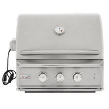 Blaze Professional 27-Inch 2 Burner Built-In Gas Grill With Rear Infrared Burner