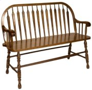 Arrowback Deacon's Bench Product Image