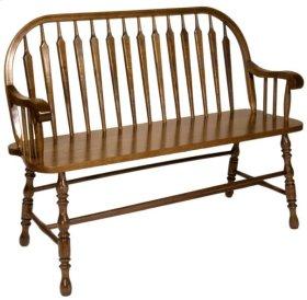Arrowback Deacon's Bench