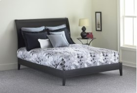 Java Platform Bed (Black) - QUEEN