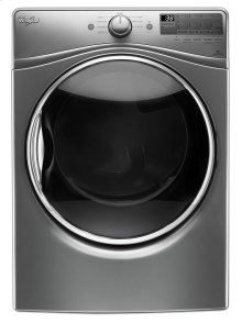7.4 cu.ft Front Load Electric Dryer with Advanced Moisture Sensing, Steam Refresh