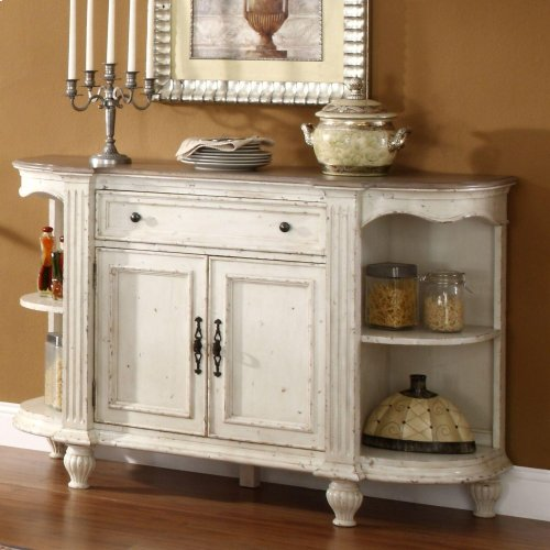 Coventry Two Tone - Server - Dover White Finish