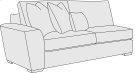 Lockett Left Arm Loveseat in Mocha (751) Product Image