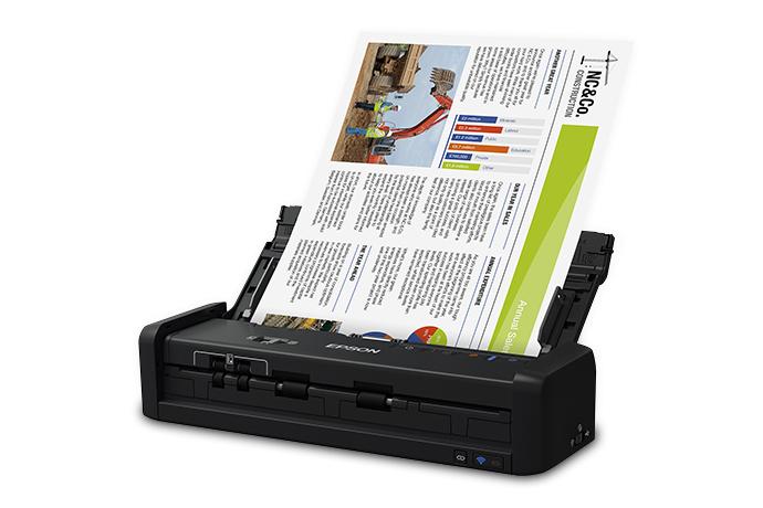 WorkForce ES-300W Wireless Portable Duplex Document Scanner with ADF