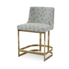 Copenhagen Brass Counter Stool