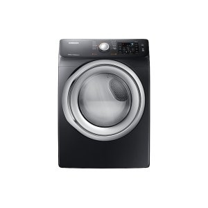 Samsung7.5 cu. ft. Gas Dryer with Steam in Black Stainless Steel