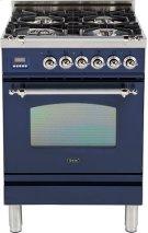 """Midnight Blue - Nostalgie 24"""" Gas Range Product Image"""