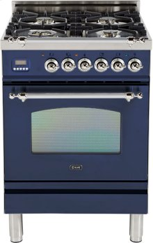 """Midnight Blue - Nostalgie 24"""" Gas Range"""