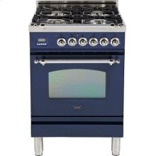 "Midnight Blue - Nostalgie 24"" Gas Range"
