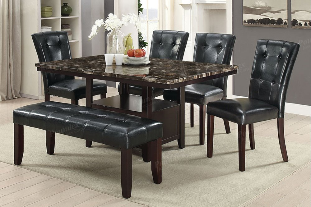 ... Vdub Furniture Mesa #11   F2460 In By Poundex Phoenix Az Dining Table  ...