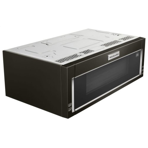 1000-Watt Low Profile Microwave Hood Combination with PrintShield Finish - Black Stainless Steel with PrintShield™ Finish
