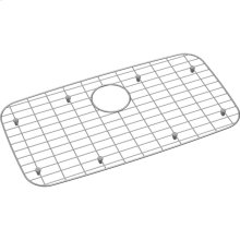 "Dayton Stainless Steel 26-1/8"" x 13-15/16"" x 1"" Bottom Grid"