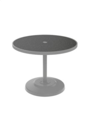 "Raduno 36"" Round KD HPL Dining Umbrella Table"