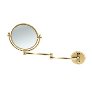 Swing Arm Mirror #1 in Polished Brass Product Image