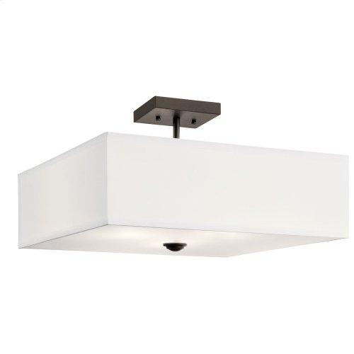 Shailene 3 Light Square Semi Flush Olde Bronze®