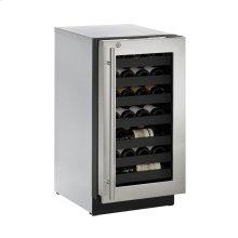 """18"""" Wine Captain ® Model Stainless Frame (Lock) Right-Hand Hinge"""