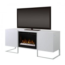 Chase Media Console Electric Fireplace