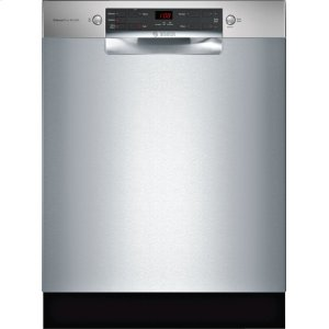 Bosch300 Series Dishwasher 24'' Stainless Steel SGE53X55UC