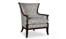 Bristol Carved Wood Accent Chair